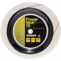 Струна для сквоша Ashaway 110m PowerNick 19 A11040 Black