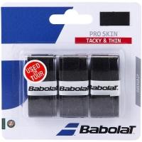 Овергрип Babolat Overgrip Pro Skin x3 653036 Black
