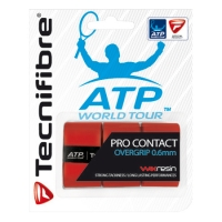 Обмотка для ручки Tecnifibre Overgrip Pro Contact ATP x3 Red 52ATPCONRD