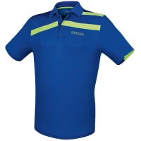 Поло Tibhar Polo Shirt M Stripe Blue/Green