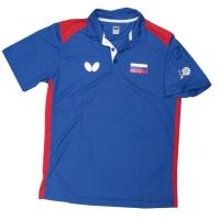 Поло Butterfly Polo Shirt U Russia 17-18 Blue