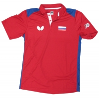 Поло Butterfly Polo Shirt U Russia 17-18 Red