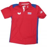 Поло Butterfly Polo Shirt U Russia 17-18 Red