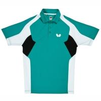 Поло Butterfly Polo Shirt JB Shiro Turquoise