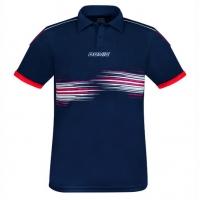 Поло Donic Polo Shirt JU Raceflex Blue/Red