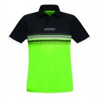 Поло Donic Polo Shirt JU Draft Black/Green