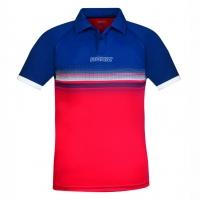 Поло Donic Polo Shirt JU Draft Blue/Red