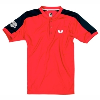 Поло Butterfly Polo Shirt JU Takeo Coral