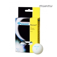 Мячи Donic 2* Prestige x6 White 618026