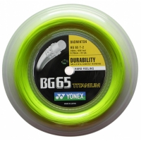 Струна для бадминтона Yonex 200m BG-65 Titanum Yellow