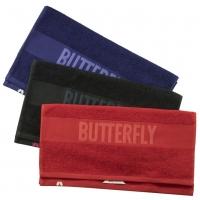 Полотенце Butterfly Stripe Black
