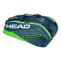 Чехол 7-9 ракеток Head Tour Team Supercombi 283118 Blue/Green