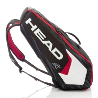 Чехол 4-6 ракеток Head Djokovic Combi 283058 Black