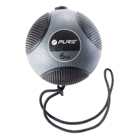 Медицинбол Medicine Ball With Rope 6kg P2I110090 PURE2IMPROVE