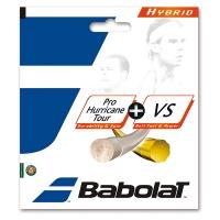 Струна для тенниса Babolat 12m Pro Hurricane Tour 125/16 + VS 130/16 281030 Natural