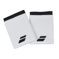 Напульсник Babolat Wristband Logo Jumbo x2 5US18262 White/Grey