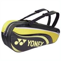 Чехол 4-6 ракеток Yonex 8826 EX Black/Lime