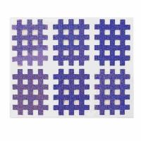 Аппликация KINDMAX Crosstape Acupuncture X02 x6 Cyan