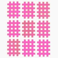 Аппликация KINDMAX Crosstape Acupuncture X04 x9 Pink