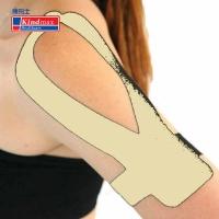 Аппликация KINDMAX Kinesio Applications Плечо/Лопатка KP-Shoulder x3 Beige
