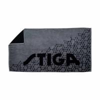Полотенце Stiga Hexagon Medium Black/Grey
