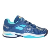 Кроссовки Babolat Junior Propulse All Court Wimbledon 33S17553 Dark Blue