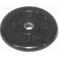 Диск обрезиненный 51mm 5kg MB-PltB51-5 MB Barbell