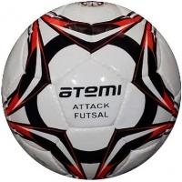 Мяч для футбола ATEMI ATTACK FUTSAL White/Black