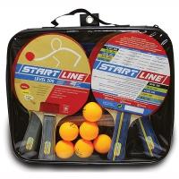 Набор для настольного тенниса Start Line Level 200 (4r, 6b, 1n) 61-453