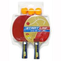 Набор для настольного тенниса Start Line Level 200 (2r, 3b) 61-300