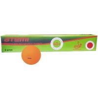 Мячи для настольного тенниса ATEMI 3* ATB301 40+ Plastic x6 Orange