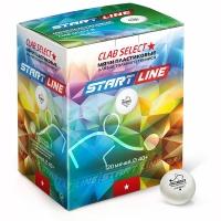 Мячи для настольного тенниса Start Line 1* Club Select 40+ Plastic x120 311209 White