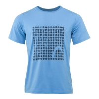 Футболка Head T-shirt M Alfred 831128 Cyan