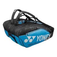 Чехол 10-12 ракеток Yonex 98212EX Pro Cyan/Black