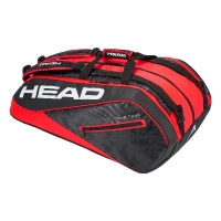 Чехол 10-12 ракеток Head Tour Team Monstercombi 283108 Black/Red