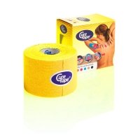 Тейп CureTape Kinesio Tape 50x5000mm 161087 Yellow