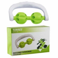 Массажер роликовый BL1007 TORRES Green/White
