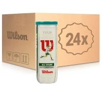 Мячи для большого тенниса Wilson Tour All Court 3b Box x72 WRT106300