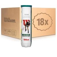 Мячи для большого тенниса Wilson Tour All Court 4b Box x72 WRT115700