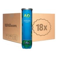 Мячи для большого тенниса Wilson Australian Open 4b Box x72 WRT119800