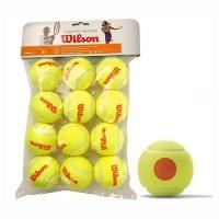 Мячи для большого тенниса Wilson Orange Starter Polybag x12 WRT137200