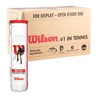 Мячи для большого тенниса Wilson Tour Clay Red 4b Box x72 WRT110800