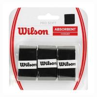 Овергрип Wilson Overgrip Pro Soft x3 WRZ4040BK Black
