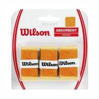 Овергрип Wilson Overgrip Pro Soft x3 WRZ4040GO Yellow