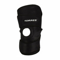 Суппорт колено Open Adjustable PRL6006 TORRES Black