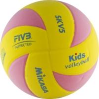 Мяч для волейбола Mikasa SKV5-YP Yellow/Pink