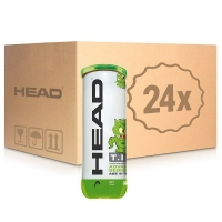 Мячи для тенниса Head Green Tip 3b Box x72 578233