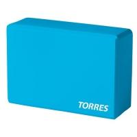 Блок для йоги YL8005 TORRES Cyan