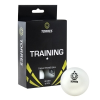 Мячи TORRES 1* Training 40+ Plastic x6 White TT0016