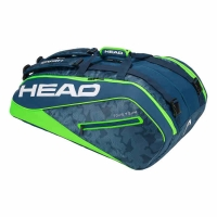 Чехол 10-12 ракеток Head Tour Team Monstercombi 283108 Blue/Green